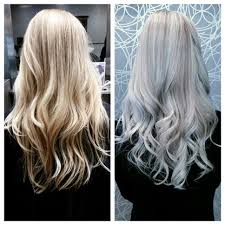 silver blonde color hair toner b a baby blonde to stunning silver with aveda fancyfollicles
