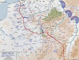 Ww1 Map Map Of Wwi Western Front Sept 25 Nov 11 1918