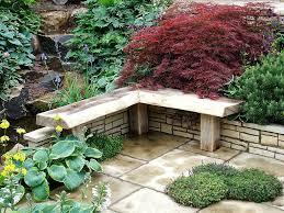 Small Garden Decorating Ideas Lawn Garden Small Garden Decor Ideas With Grey Cubical