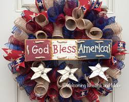 4th of july wreaths 4th of july wreath etsy
