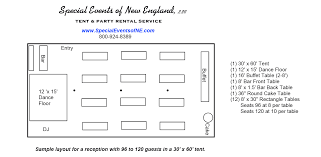 tent layout options get the right tent for your event