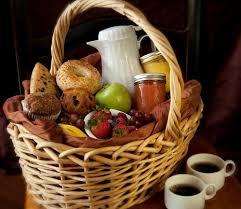 breakfast basket breakfast hers