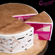camoflauge cake how to make a birch bark log cake w pink camouflage