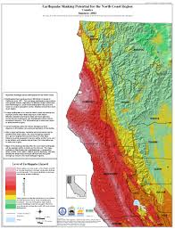 Map Of California Fires California Seismic Safety Commission
