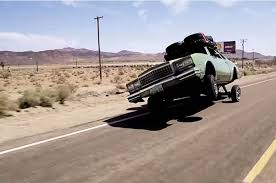 roadkill goes off road in a 1980 chevy monte carlo lowrider w video