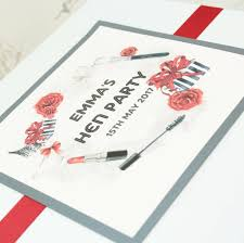 Designerk Hen Personalised Hen Party Memory Box By Dreams To Reality Design Ltd