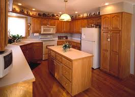 Hutch Kitchen Cabinets Hickory Floors Cherry Cabinets Home Ideas Pinterest Cherry