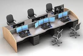 Computer Desk For Multiple Monitors Trading Desks Mainline Computer