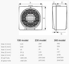 Vortice Bathroom Fan Vortice Vario Exhaust Fan Wall Window Universal