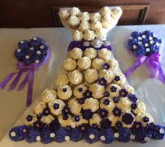 bridal cupcakes bridal shower cupcake dress maddies cakes