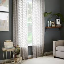 curtains west elm zigzag curtain inspiration navy blue and white