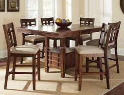 counter height dining table with bench unique dining room sets with leaf stylist ideas counter height for
