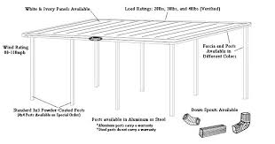Attached Carport Plans Flat Top Carports Call 877 458 1001 Leonard Buildings U0026 Truck