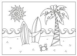 coloring pages for 237 free printable summer coloring pages for