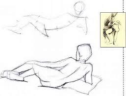 seated ami reclining drawing the human body joshua nava arts