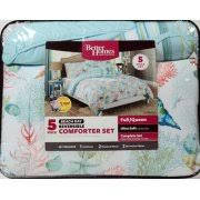 Better Homes Comforter Set Better Homes And Gardens Beach Day 5 Piece Comforter Set Peach