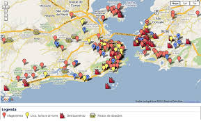 de janeiro on the world map widespread landslides in de janeiro and niteroi in brazil