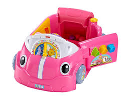 smart car pink fisher price smart stages crawl around car pink amazon ca toys