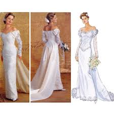 wedding dress pattern wedding gown patterns to sew fashion gallery