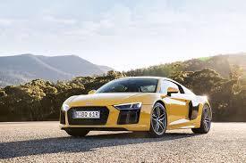 Audi R8 Yellow - image audi r8 v10 yellow automobile