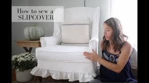 how to slipcover a chair how to slipcover a wingback chair