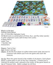 tree top hop the big board game for little spellers by befuddled