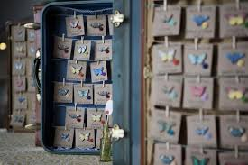 wedding planners bay area cards hung with clothespins wedding place