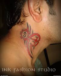 om tattoo on neck designs music tattoos and designs page 70