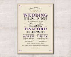 wedding rehearsal invitations wedding rehearsal dinner invitation custom printable
