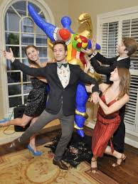 houston ballet ball kick off party combines blue blood