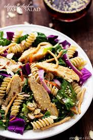 chicken pasta salad chinese chicken pasta salad with sesame dressing the recipe critic