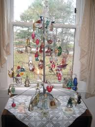 blown glass tree lights decoration