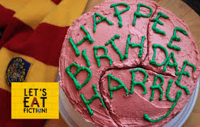 the birthday cake hagrid s birthday cake harry potter let s eat fiction