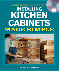 diy kitchen cabinets book installing kitchen cabinets made simple includes companion