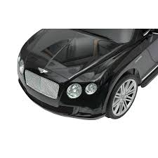 bentley black and red amazon com bentley gtc kids 6v electric ride on toy car w parent