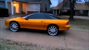 95 chevy camaro 95 camaro z28 kandy paint 22s bump