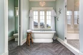 wood look tiles bathroom wood like tiles transitional bathroom clark and co homes