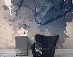 self adhesive wallpaper blue removable wallpaper etsy