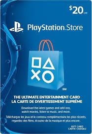 20 gift card 20 playstation store gift card canada prepaidgamercard