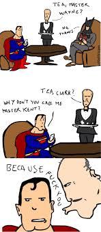 Foto Meme Comic - alfred tells superman why he won t call him master kent in meme