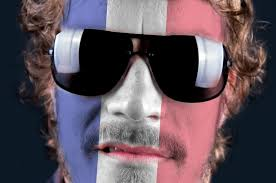 Flag Face The French Flag On The Face Free Stock Photo Public Domain Pictures
