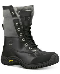 ugg s adirondack ii boots black ugg adirondack ii cold weather boots boots shoes macy s