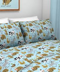 Super Soft Bed Sheets by Farm Animal Sheet Set Tuck A Little One In To Supersoft Brushed