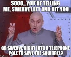 Swerve Meme - dr evil laser meme imgflip