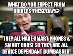 Dumbass Meme - drivers