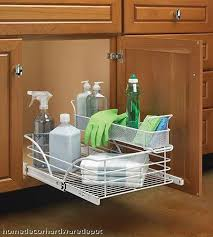 Under Cabinet Shelving by Roll Out Rack Under Sink Natural Building Blog