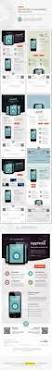 mobile app e newsletter psd templates psd templates mobile app