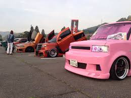 one pink xb at scion car show scion sights pinterest scion