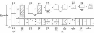cabinet door sizes chart kitchen cabinet sizes chart medium depth of cabinets within standard