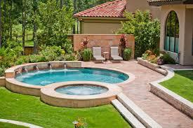 BackyarddesignswithpoolPoolMediterraneanwithbackyarddesign - Backyard designer
